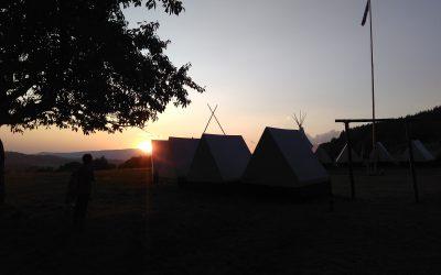 Letný skautský tábor 123. zboru Zvolen 27. 7. – 3. 8. 2019