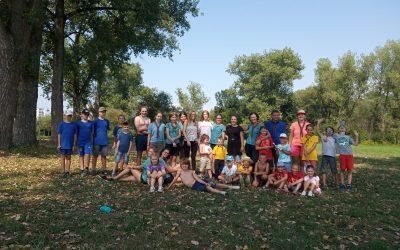 Skautský športový deň – otvorenie skautského roka 31.08.2019