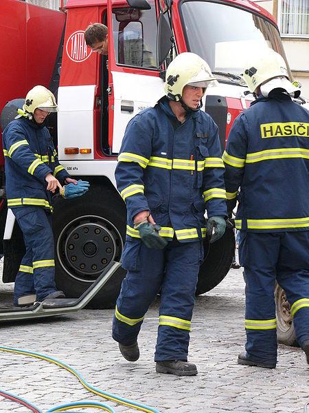 Výprava zvolenských skautov k hasičom 16.6.2020